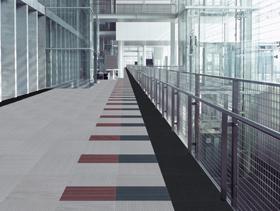 Office building hall way